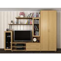 мебельная стенка для спальни со шкафом