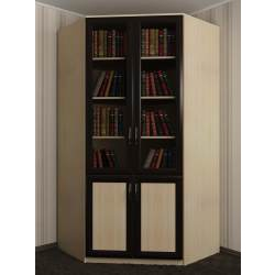 узкий угловой шкаф