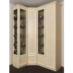 4-дверный угловой шкаф