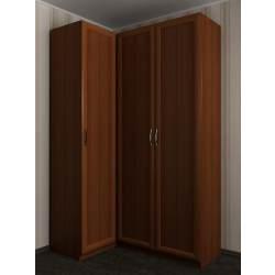 3-створчатый угловой шкаф